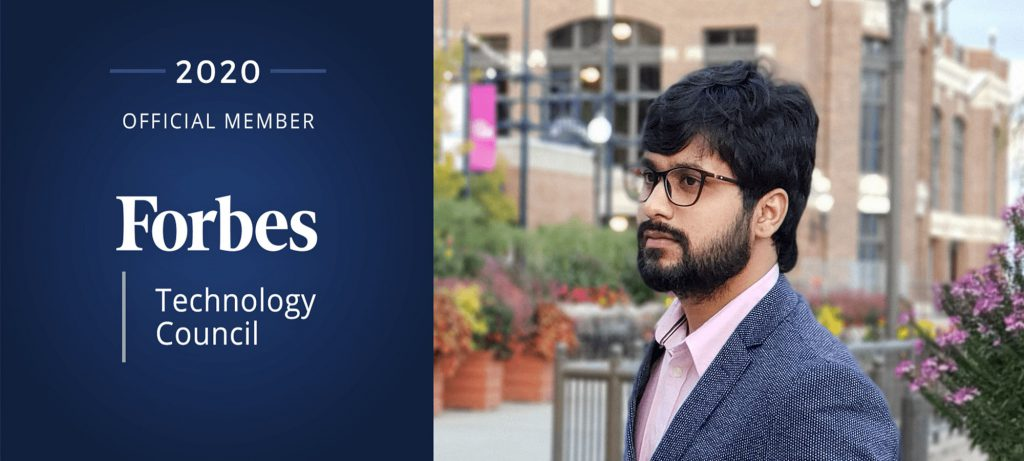 Rakesh Munnanooru joins the elite group of Forbes Technology Council